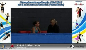 Pré-Novice Dames Gr. 4 prog. court-  Échauffement 5 (REPLAY) (2015-08-07 16:37:52 - 2015-08-08 02:53:19)
