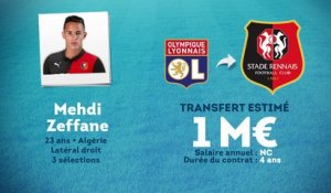 Officiel : Mehdi Zeffane file à Rennes !