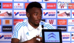 Nkoudou évoque sa situation à l'OM