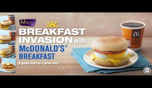 Breakfast Invasion with McD's Breakfast on hitz.fm