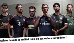adidas dévoile 6 maillots third !