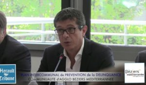 BEZIERS - 2015 - Plan Intercommunal de Prévention de la Délinquance