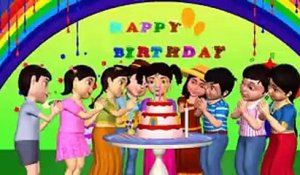 Happy birthday to you 2016 - 3D Nursery Rhymes - Watch All Latest Kids Songs And Nursery Rhymes