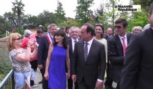 VIDEO (41) Hollande au zoo de Beauval : les visiteurs l'appareil en main