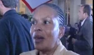 1er tour: reaction de Christiane Taubira