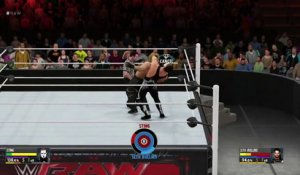 WWE 2K16 : Sting vs Rollins
