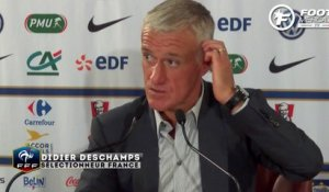 Deschamps content pour Martial