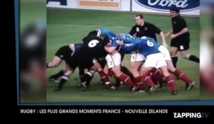 Rugby : Revivez les moments forts France - Nouvelle Zélande