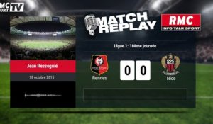 Rennes-Nice (1-4) : le Goal-Replay avec le son RMC Sport