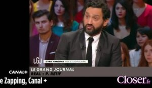 Le Zapping - Cyril Hanouna pas fan du Zapping