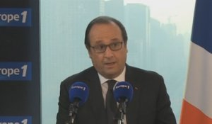 Après l'accord avec la Chine, Hollande croit au «succès possible» de la Cop 21