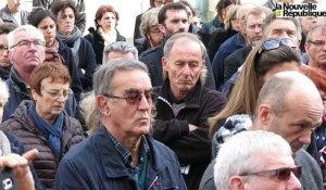 VIDEO. A Niort, en silence, un long moment de recueillement