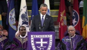 Obama chante Amazing Grace