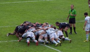 TOP 14 -  Racing 92 – Toulouse : 28-13 - ESSAI Henry CHAVANCY (R92) - Saison 2015/2016