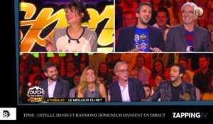 TPMS : Estelle Denis et Raymond Domenech dansent un slow en direct
