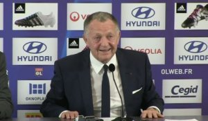 Foot - L1 - OL : Aulas «Le principe du football et du café du commerce»