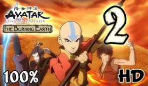 Avatar The Last Airbender: Burning Earth Walkthrough Part 2 | 100% (X360, Wii, PS2) HD