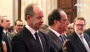 Education: Hollande à l'Ecole Nationale de la Magistrature