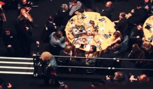 Oli Sykes Bring Me The Horizon trashed Coldplay's Table at NME Awards !