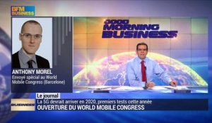 Ouverture du World Mobile Congress
