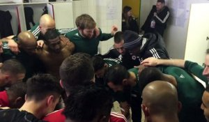 Cri de guerre du Red Star contre Nimes