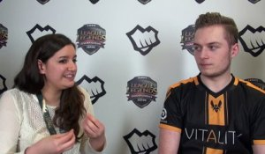 LCS Spring S6, Interview de Vitality Cabochard
