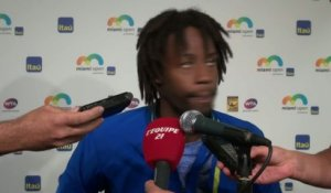 Tennis - ATP - Miami : Monfils «Au courage»