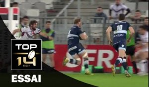 TOP 14 – Bordeaux-Bègles – Racing 92 : 20-28 Essai Antonie CLAASSEN (RAC) – J20 – Saison 2015-2016