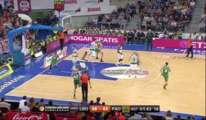 Basket - Euroligue - Quarts de finale : Vitoria fait le break
