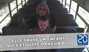 Une conductrice de bus sauve un enfant en train de s'étouffer
