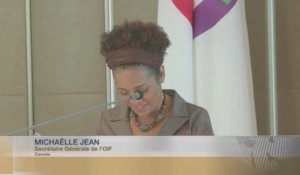 DISCOURS - Michaelle JEAN, Relations Cameroun-OIF