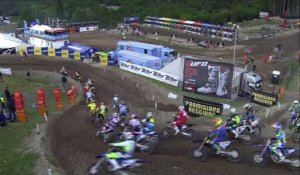 EMX125 Round of Trentino 2016 - Race 1 Highlights