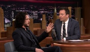Kit Harington au Tonight Show de Jimmy Fallon