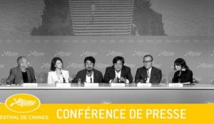 GOKSUNG - Press conference - EV - Cannes 2016