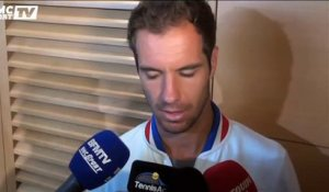 "Richard Gasquet : ""Je me sens au top sur le central"""