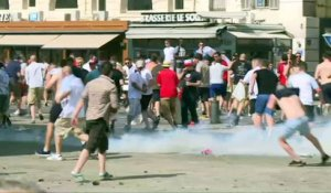 Euro-2016 : incidents au Vieux-Port de Marseille