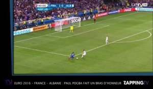 Euro 2016 - France - Albanie : Paul Pogba fait un bras d'honneur ! (VIDEO)