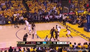 Le dunk surpuissant de LeBron James lors du Game 7 des Finales NBA 2016