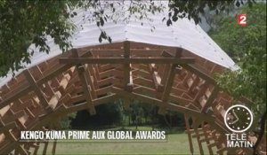 Architecture - Kengo Kuma primé aux Global Awards - 20160627