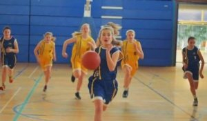 Girls playing boys' sports express themselves