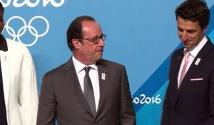 A Rio, F. Hollande défend la candidature de Paris pour 2024
