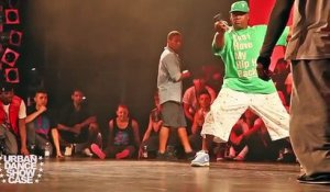 Battle de breakdance entre Bboy Junior et Bboy Neguin
