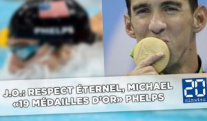 J.O.: Respect éternel, Michael «19 médailles d'or» Phelps