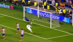 Sergio Ramos goal - Real Madrid-Atético Madrid - Champions League finale 2014