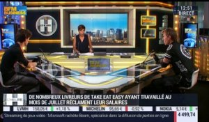 Les ex-coursiers de Take Eat Easy se tournent vers la justice - 12/08