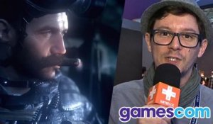 Gamescom : Impressions Call of Duty Infinite Warfare + Modern Warfare Remastered