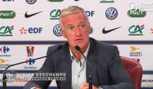Deschamps évoque Corchia et Sidibé