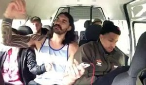 Steven Adams et Andre Roberson chantent du Backstreet Boys en voiture
