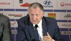 Foot - L1 - OL : Aulas «Gonalons n'avait pas l'intention de faire mal»