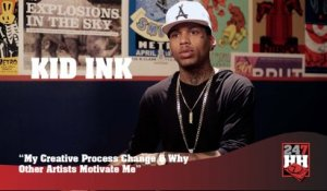 Kid Ink - My Creative Process Has Changed Over The Last Few Years (247HH Exclusive)  (247HH Exclusive)